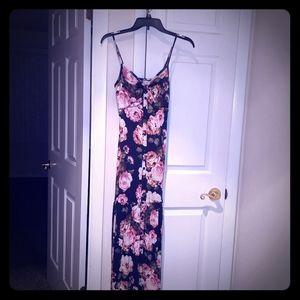 Venus brand floral Maxi dress